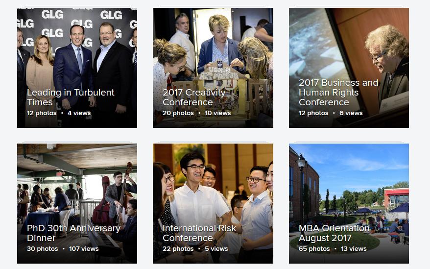 UConn School of Business Photos