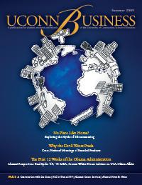 UConn Business Magazine, vol. 1, issue 1
