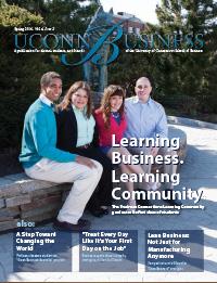 UConn Business Magazine, vol. 4, issue 2, Spring 2014